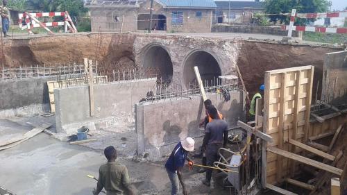 Construction of new bridge